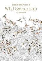 Millie Marotta's Wild Savannah (postcard Book): 30 Postcards