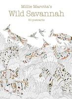 Millie Marotta's Wild Savannah (postcard Box): 50 Postcards