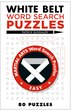 White Belt Word Search Puzzles by Patrick Blindauer