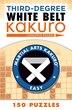 Third-degree White Belt Kakuro by Conceptis Puzzles