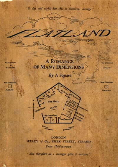 Flatland (MP3-CD): A Romance of Many Dimensions by Edwin A. Abbott