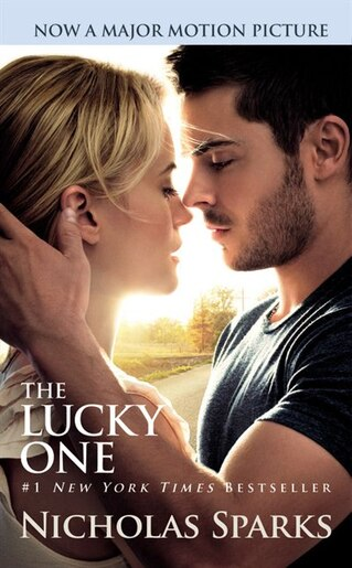 the lucky one book by nicholas sparks mass market paperback. Black Bedroom Furniture Sets. Home Design Ideas