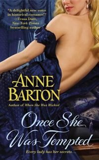Book Once She Was Tempted by Anne Barton