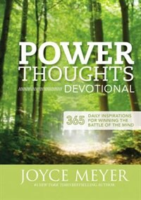 Book Power Thoughts Devotional: 365 Daily Inspirations For Winning The Battle Of The Mind by Joyce Meyer