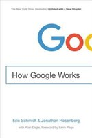 Book How Google Works by Eric Schmidt