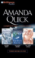 Amanda Quick CD Collection 2: Second Sight, The River Knows, The Third Circle