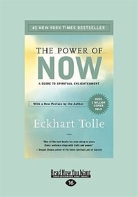 Book The Power of Now: A Guide to Spiritual Enlightenment by Eckhart Tolle
