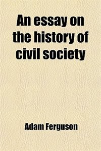 an essay on the history of civil society wiki