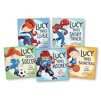 Lucy Tries Sports High-five Pack