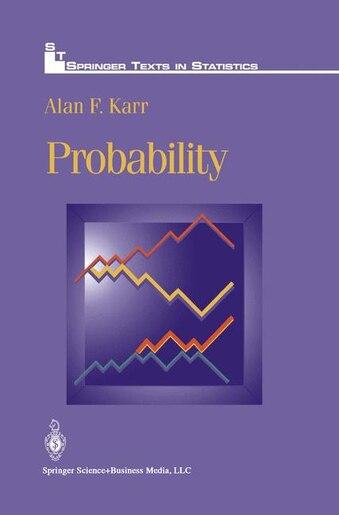Probability de Alan F. Karr