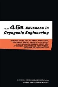Advances in Cryogenic Engineering by John Quan-Sheng Shu