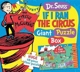 Dr. Seuss If I Ran The Circus Giant Puzzle Box: Huge 48-piece Floor Puzzle