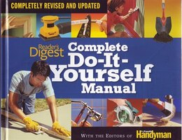 Book READERS DIGEST COMPLETE DOITYOURSELF by At Reader's Editors