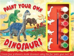 Book PAINT YOUR OWN DINOSAURS KIT by That Top
