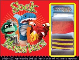 Book SOCK MONSTERS KIT by That Top