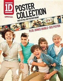 Book One Direction Official Poster Collection: Over 25 Pull-out Posters Inside! by 1D