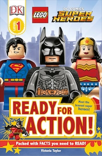 Dk Readers L1: Lego Dc Super Heroes: Ready For Action!