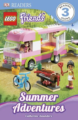 Book Dk Readers L3: Lego Friends: Summer Adventures by Catherine Saunders