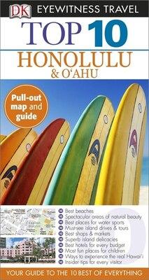 Book Top 10 Honolulu & Oahu by Dorling Dk Publishing