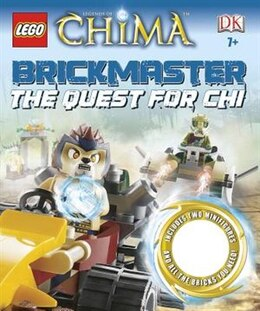 Book Lego Legends Of Chima Brickmaster: The Quest For Chi by Dorling Dk Publishing