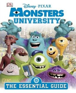 Book Monsters University: The Essential Guide by Dorling Dk Publishing