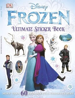 Book Ultimate Sticker Book: Frozen by Dorling Dk Publishing