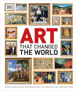 Book Art That Changed The World by Dorling Dk