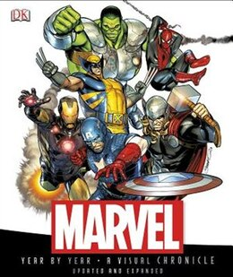 Book Marvel Year By Year by Peter Sanderson