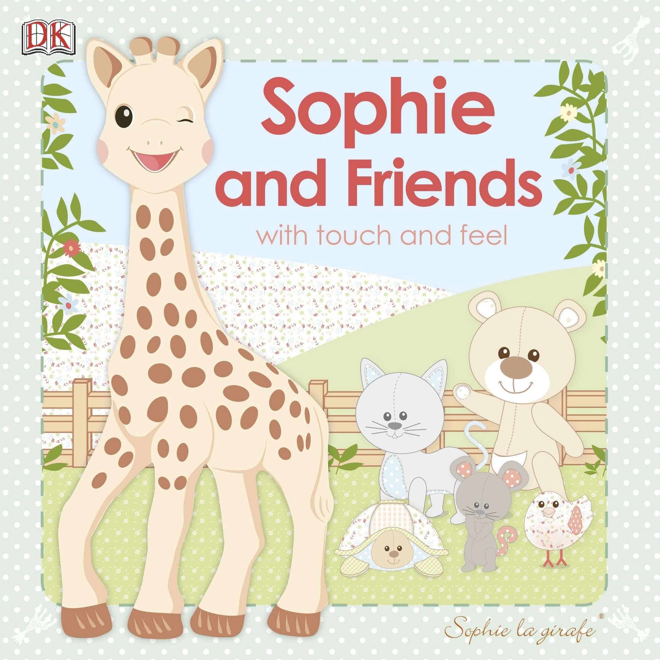 Book Sophie La Girafe: Sophie And Friends: With Touch And Feel by Dorling Dk