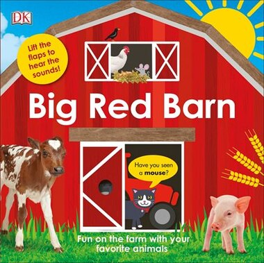 Big Red Barn by Dk