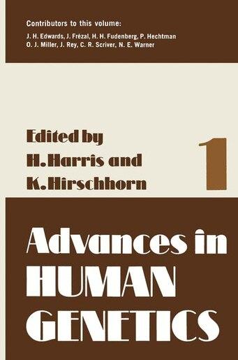 Advances in Human Genetics 1 by Harry Harris