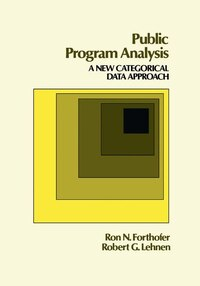 Public Program Analysis: A New Categorical Data Approach