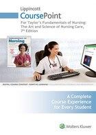 Lippincott Coursepoint For Fundamentals Of Nursing