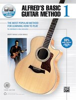 Alfred's Basic Guitar Method, Bk 1: The Most Popular Method For Learning How To Play, Book And…