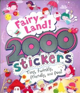 Book FAIRY LAND 2000 STICKERS by Books Parragon