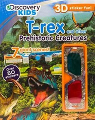 3d Sticker Scene T Rex