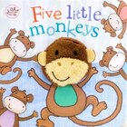 FIVE LITTLE MONKEYS FINGER PUPPET BK