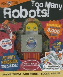 Book TOO MANY ROBOTS by Books Parragon