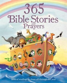 Book 365 BIBLE STORES & PRAYERS by Books Parragon