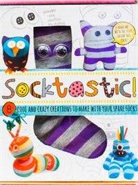 Book SOCKTASTIC SOCK KIT by Books Parragon