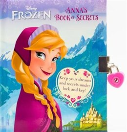 Book Frozen Bk Of Secrets Anna by Disney