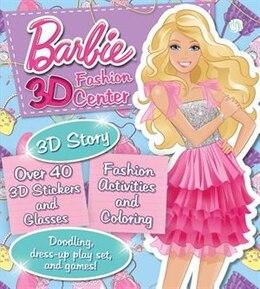 Book BARBIE 3D FASHION CENTER by Books Parragon