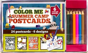 COLOUR ME SUMMER CAMP NOTECARDS