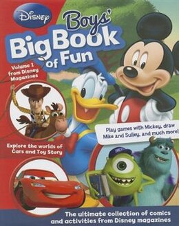 Book DISNEY BOYS BIG BK OF FUN by Books Parragon