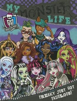 Book MONSTER HIGH MY MONSTER LIFE by Books Parragon