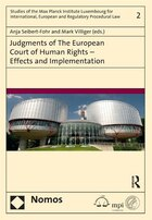 Judgments Of The European Court Of Human Rights ¿ Effects And Implementation