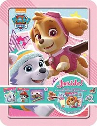 PAW PATROL SKYE HAPPY TIN