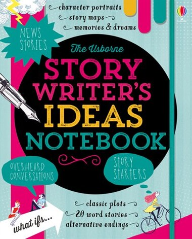 Story Writer's Ideas Notebook by Louie Stowell
