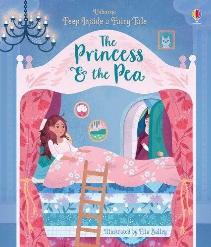 Peep Inside A Fairy Tale: Princess & The Pea Board Book by Anna Milbourne