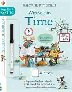 Wipe Clean Time 8-9 by Holly Bathie
